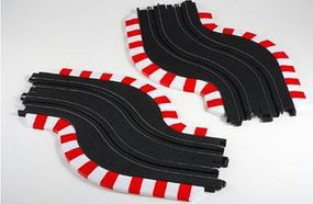 AFX HO 9 Chicane Track Set- Left & Right HO Scale Slot Car Track #70617