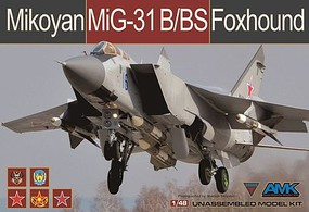 AMK 1/48 MiG31B/BS Foxhound Fighter