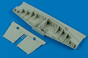 Aires P51D Wheel Bay For a Trumpeter Model Plastic Model Aircraft Accessory 1/32 Scale #2092