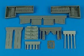 Aires P51B/C Mustang Gun Bay For a Trumpeter Model Plastic Model Aircraft Accessory 1/32 #2097