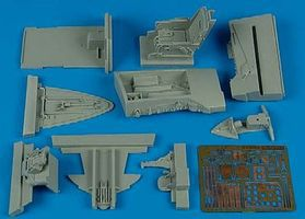 Aires F86F Cockpit Set For a Kinetic Model Plastic Model Aircraft Accessory 1/32 Scale #2123