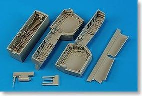 Aires F14 Wheel Bay For a Trumpeter Model Plastic Model Aircraft Accessory 1/32 Scale #2182