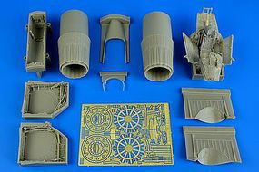 Aires Su27 Flanker B Detail Set For TSM Plastic Model Aircraft Accessory 1/32 Scale #2212