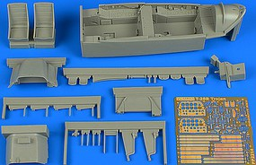 Aires 1/32 T28B Trojan Trainer Version Cockpit Set For KTY