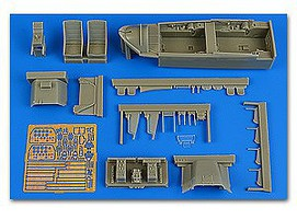 Aires 1/32 T28B Trojan cockpit Set For KTY