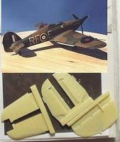 Aires Hawker Hurricane Control Surfaces For Hasegawa Plastic Model Aircraft Accessory 1/48 #4035
