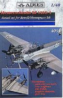 Aires Bf110G4 Detail Set For a Revell Model Plastic Model Aircraft Accessory 1/48 #4091