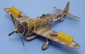 Aires P47D Detail Set For a Hasegawa Model Plastic Model Aircraft Accessory 1/48 Scale #4110