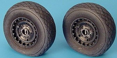 Aires Hobby Me262A Wheels & Paint Mask For a Tamiya Model -- Plastic Model Aircraft Accessory -- 1/48 -- #4146