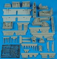 Aires A4M Detail Set For a Hasegawa Model Plastic Model Aircraft Accessory 1/48 Scale #4360