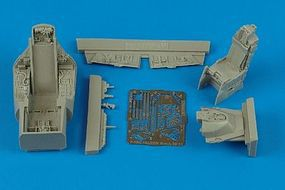 Aires F16C Falcon Block 25/32 Cockpit Set For Tamiya Plastic Model Aircraft Accessory 1/48 #4364