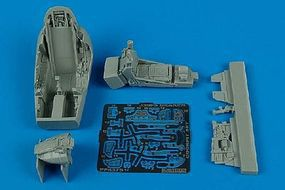 Aires J35FS Draken Cockpit Set For a Hasegawa Model Plastic Model Aircraft Accessory 1/48 #4375