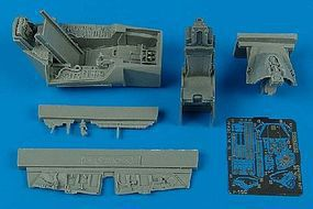 Aires F16C Block 50/52 Cockpit For a Tamiya Model Plastic Model Aircraft Accessory 1/48 #4400