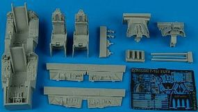 Aires F16I Sufa Cockpit Set For a Hasegawa Model Plastic Model Aircraft Accessory 1/48 #4422