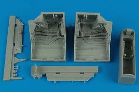 Aires F22A Raptor Wheel Bays For an Academy Model Plastic Model Aircraft Accessory 1/48 #4445
