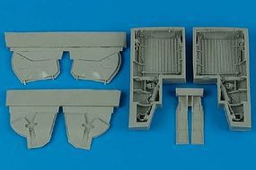 Aires P47 Wheel Bays For a Tamiya Model Plastic Model Aircraft Accessory 1/48 Scale #4466