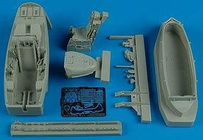 Aires F22A Cockpit Set For a Hasegawa Model Plastic Model Aircraft Accessory 1/48 Scale #4480