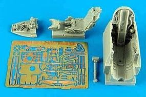 Aires MiG21MF Cockpit Set For an Eduard Model Plastic Model Aircraft Accessory 1/48 #4511