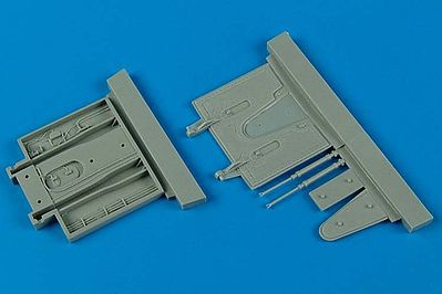 Aires Hobby F100 Super Sabre Early Speed Brake Trumpeter -- Plastic Model Aircraft Accessory -- 1/48 -- #4547