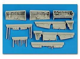 Aires Sepecat Jaguar Wheel Bay For a Kitty Hawk Model Plastic Model Aircraft Accessory 1/48 #4595