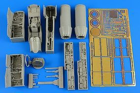Aires F/A18A/C Hornet Detail Set For HSG Plastic Model Aircraft Accessory 1/48 Scale #4600