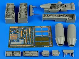 Aires F/A18E Super Hornet Detail Set For HSG Plastic Model Aircraft Accessory 1/48 Scale #4635