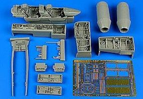Aires F/A18F Super Hornet Detail Set For HSG Plastic Model Aircraft Accessory 1/48 Scale #4640