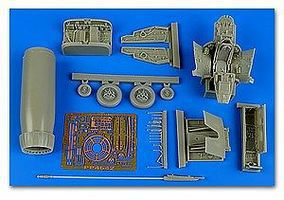 Aires F100C Super Sabre Early Detail Set For TSM Plastic Model Aircraft Accessory 1/48 #4642