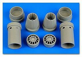 Aires F/A18E Super Hornet Exhaust Nozzles For RVL Plastic Model Aircraft Accessory 1/48 #4644