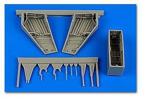 Aires F101A/C Voodoo Wheel Bay For KTY Plastic Model Aircraft Accessory 1/48 Scale #4646