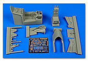 Aires F106A Delta Dart Cockpit Set For TSM Plastic Model Aircraft Accessory 1/48 Scale #4660