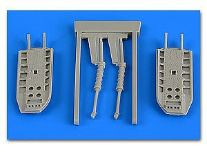 Aires Hobby 1/48 MiG31 Foxhound Speed Brakes For AGK