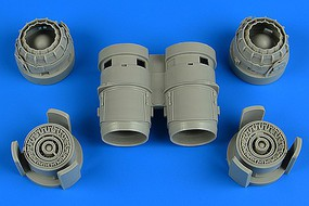 Aires 1/48 Tornado Exhaust Nozzles For RVL (Resin)