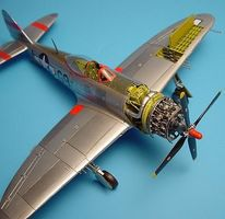 Aires P47D Detail Set For an Academy Model Plastic Model Aircraft Accessory 1/72 #7039
