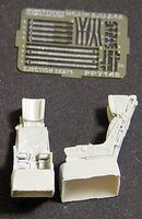 Aires SJU5/6A Ejection Seats for F/A18C Plastic Model Aircraft Accessory 1/72 Scale #7148