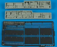 Aires F/A18 Electronic Bay For a Hasegawa Model Plastic Model Aircraft Accessory 1/72 #7185