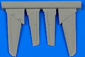 Aires MiG15 Control Surfaces For EDU (Resin) Plastic Model Aircraft Accessory 1/72 Scale #7322