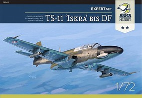Arma 1/72 TS11 Iskra bis DF Two-Seater Trainer Recon Aircraft (Expert Kit)