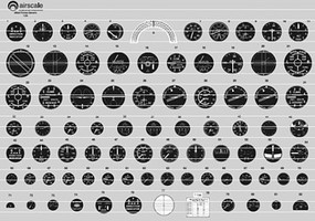 Airscale 1/32 WWII RAF Instrument Dials (Decal)