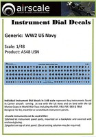 Airscale 1/48 WWII USAAF Instrument Dials (Decal)