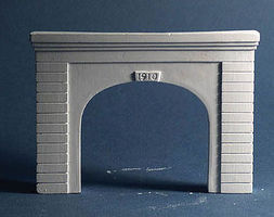 AIM Double-Track Tunnel Portal - Concrete N Scale Model Railroad Scenery #215