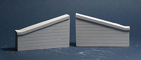 AIM Abutment wing concrete 2/ - N-Scale (2)
