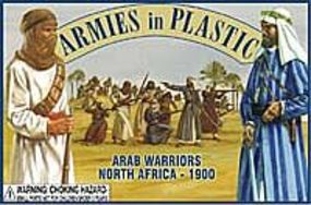 ArmiesInPlastic N. Africa 1900 Arab Warriors (20) Plastic Model Military Figure 1/32 Scale #5443