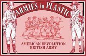 ArmiesInPlastic American Revolution British Army Infantry Plastic Model Military Figure 1/32 Scale #5466
