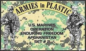 ArmiesInPlastic US Marines OEF Afghanistan Set #2 (18) Plastic Model Military Figure 1/32 Scale #5579