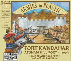 ArmiesInPlastic Fort Kandahar Afghan Hill Forts 1890s Plastic Model Military Diorama 1/32 Scale #9802