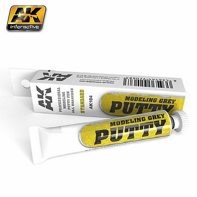 AK Interactive Modeling Grey Acrylic Putty 20ml Tube