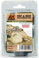 AK OIF & OEF Modern US Vehicles Acrylic/Enamel Hobby and Model Paint Set #120