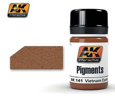 AK Vietnam Earth Pigment 35ml Bottle Model Paint Pigment #141