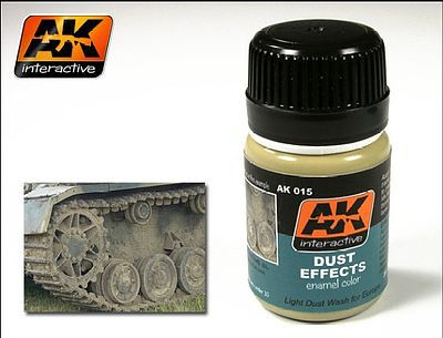 AK Interactive Dust Effects Enamel Paint 35ml Bottle -- Hobby and Model Enamel Paint -- #15